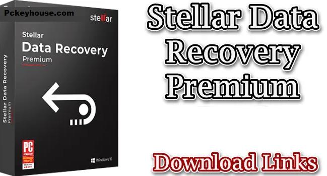 Stellar DataRecovery Crack