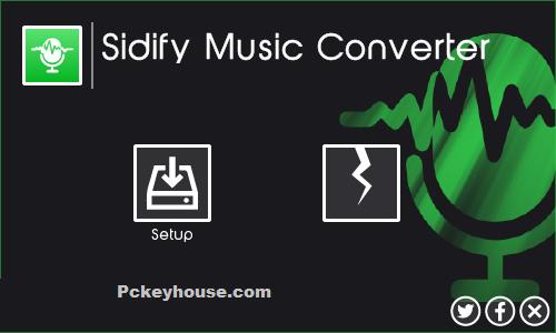 SidifyMusicConverter Crack