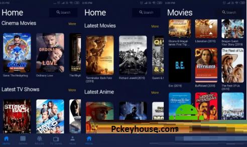 CineHub MOD APK Key
